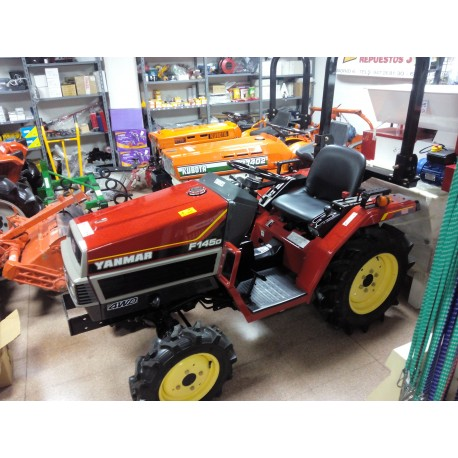 Yanmar F145D.  4X4.  Reacondicionado.