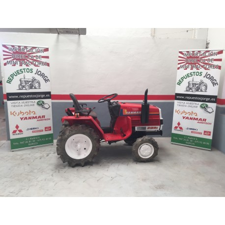 Mini tractor Yanmar F13 4X4