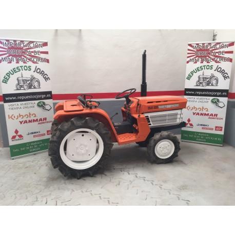 Mini tractor Kubota B1600 DT 4x4. VENDIDO.