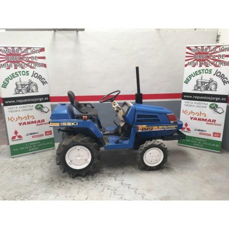 Mini tractor Iseki 120  4x4