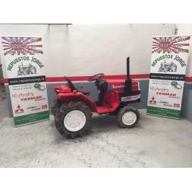Mini tractor YANMAR F154D. 4x4.