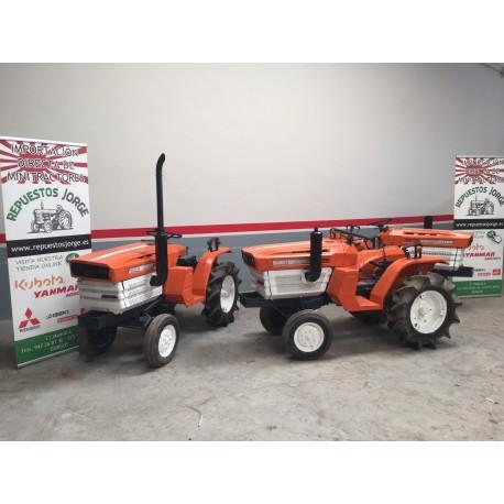 Mini tractor Kubota 1400. 4x2    3 unidades